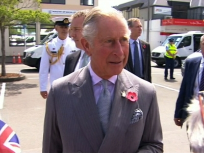 British Royals Tour New Zealand's South Island