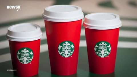 Starbucks accused of war on Christmas with cup design