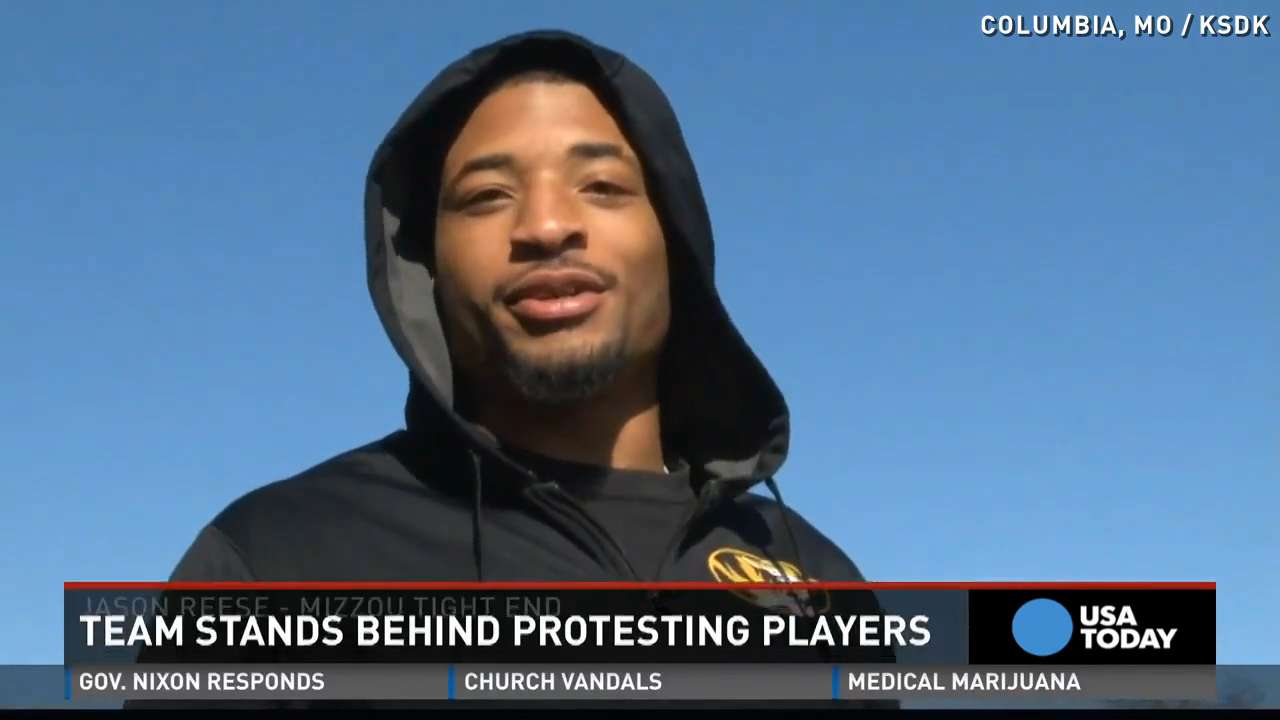 Missouri coach: Team stands behind protesting players