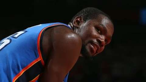Durant shuts down free agency talk ahead of game in D.C.