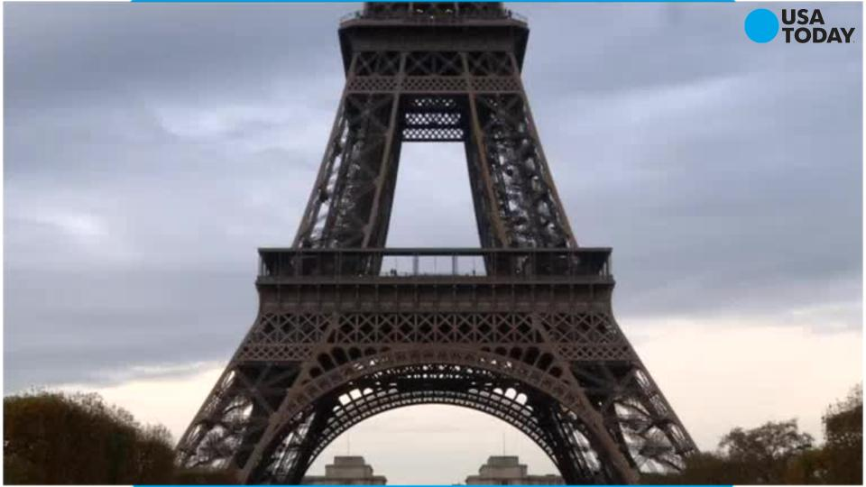 A British man climbed the Eiffel Tower without ropes