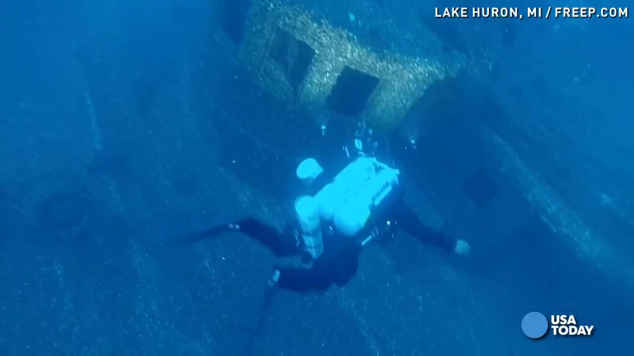 Shipwreck from 1913 'White Hurricane' finally found