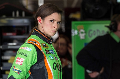 NASCAR driver Danica Patrick sits with USA TODAY Sports to talk about road rage, passing her driver's test on the first try and more.