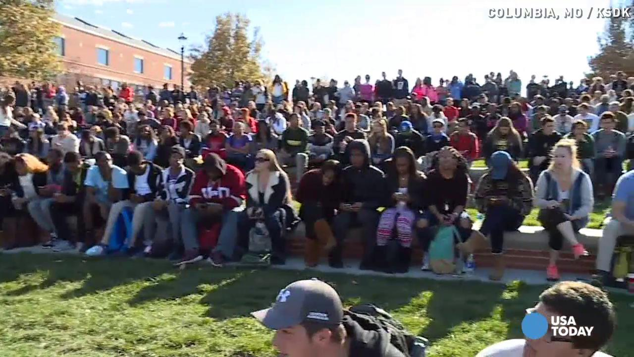 Mizzou president, chancellor step down amid protests