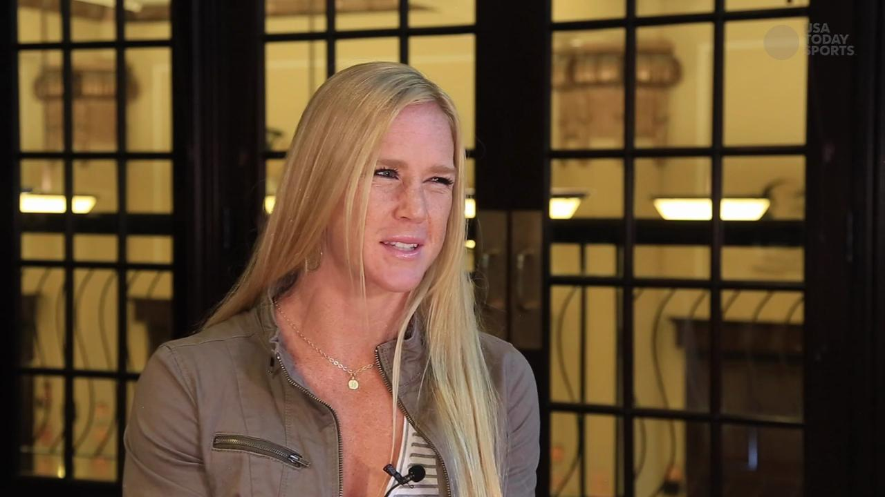 USA TODAY Sports' Martin Rogers' one-on-one interview with Holm about her life outside of fighting.