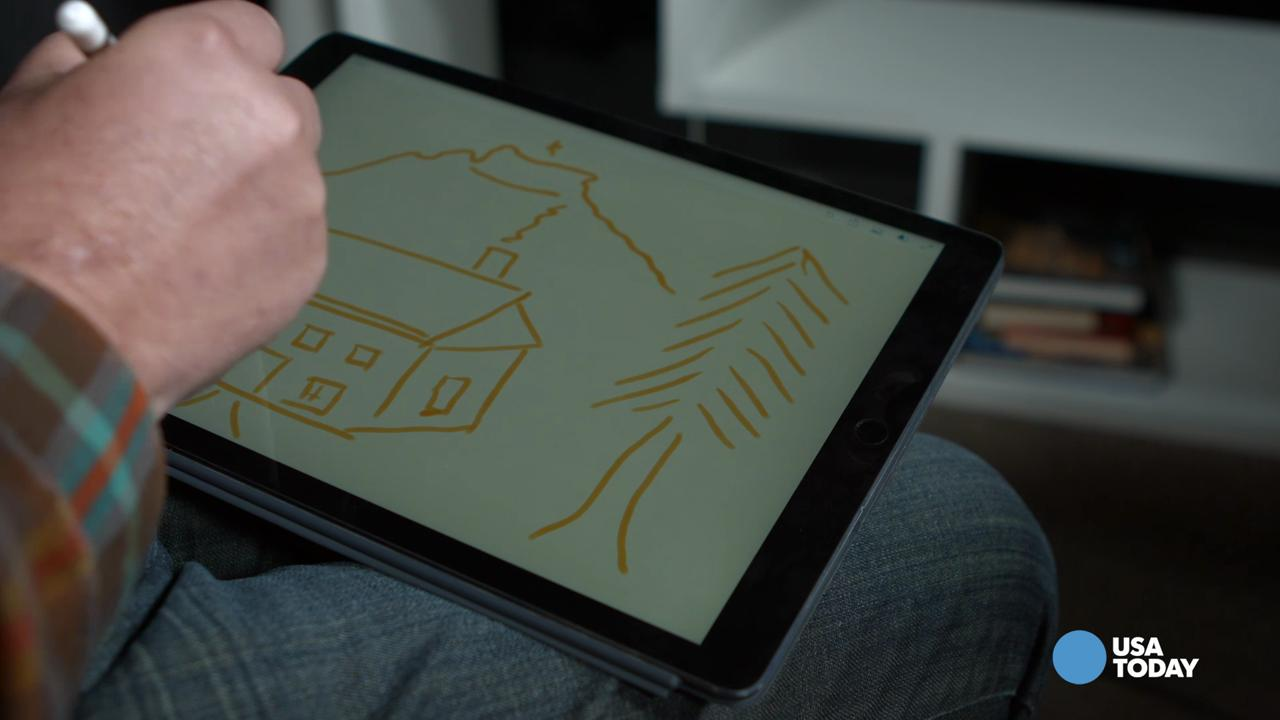 Along with the newly released iPad comes the Apple Pencil, a $99 accessory that allows you to write, draw and sketch on screen with virtually no lag.