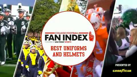 Fan Index: Best uniforms and helmets
