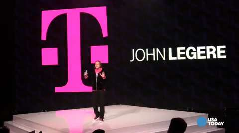 "USA TODAY's Jefferson Graham reports from the T-Mobile anouncement in Los Angeles that the new ""Binge On"" service has a catch."