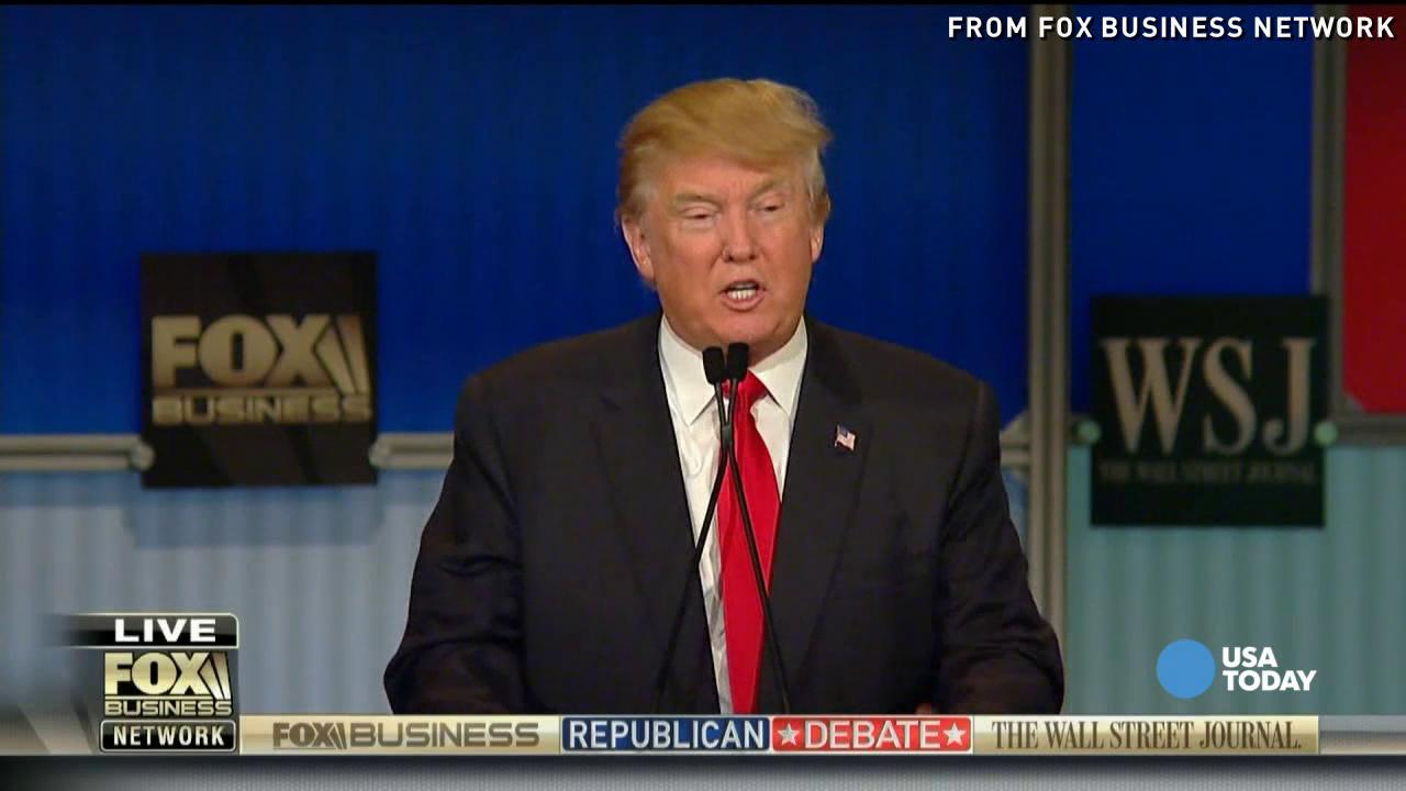 Donald Trump clashes with Kasich, Bush and Fiorina