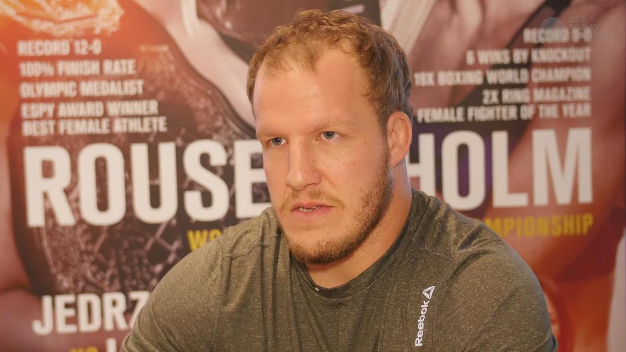 UFC heavyweight Jared Rosholt not interested in criticisms of past
