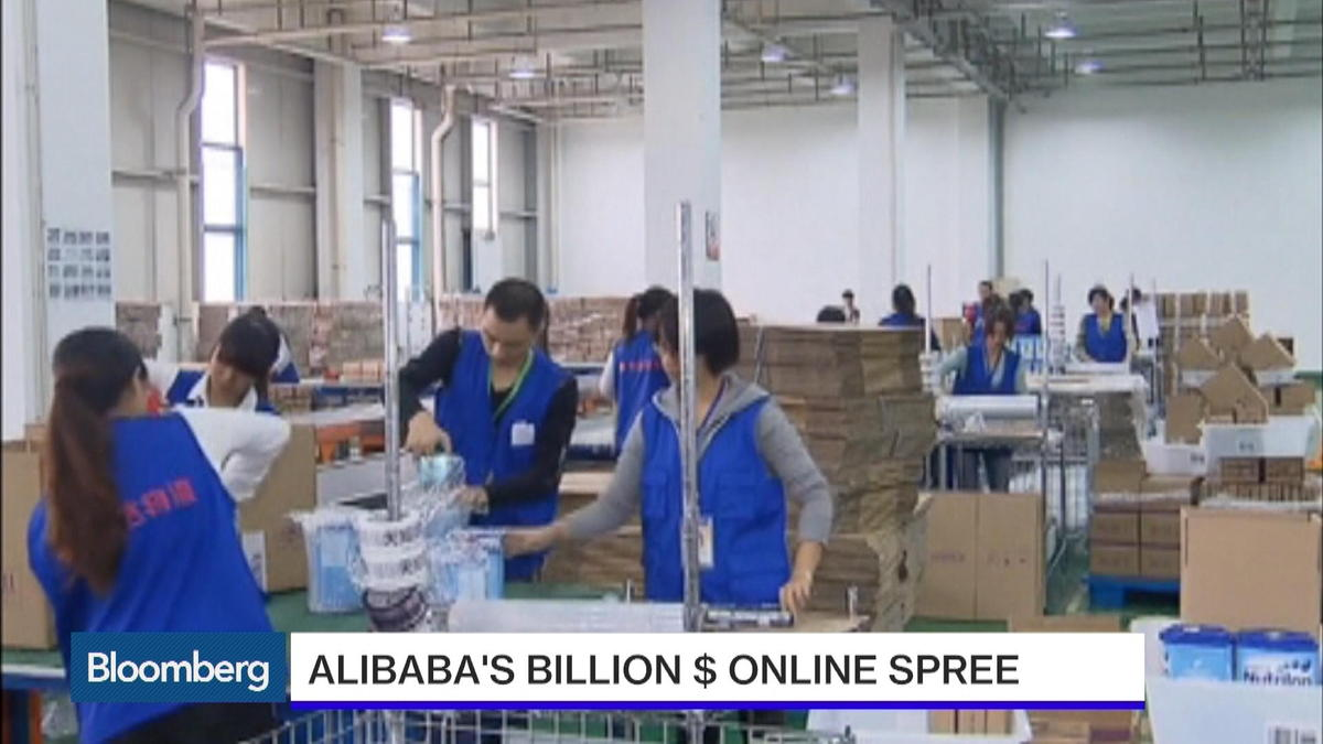 Can Alibaba double a Singles' Day sales record?