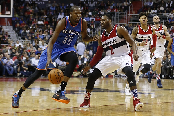 Somber homecoming for Durant due to injury