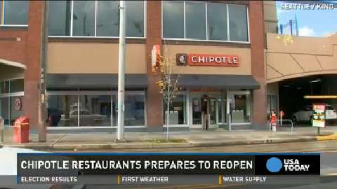Newly sanitized Chipotles reopen, clear inspections