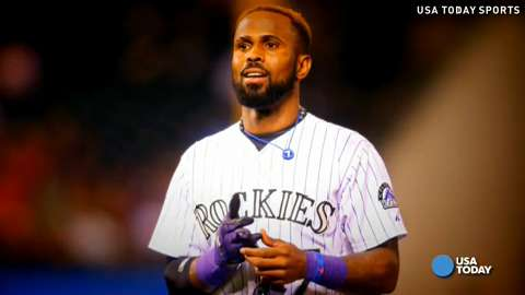 Rockies shortstop Jose Reyes is a four-time All-Star.