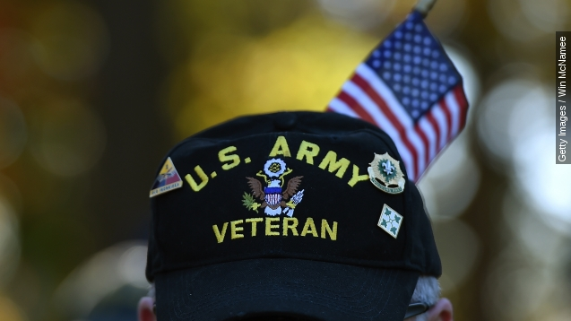 U.S. veterans by a numbers