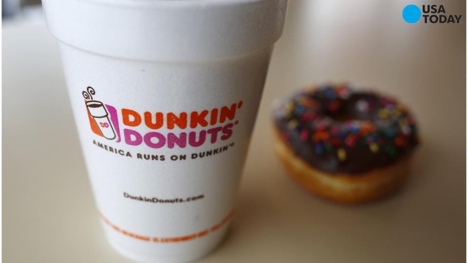 Dunkin' Donuts releases its own holiday-themed cups