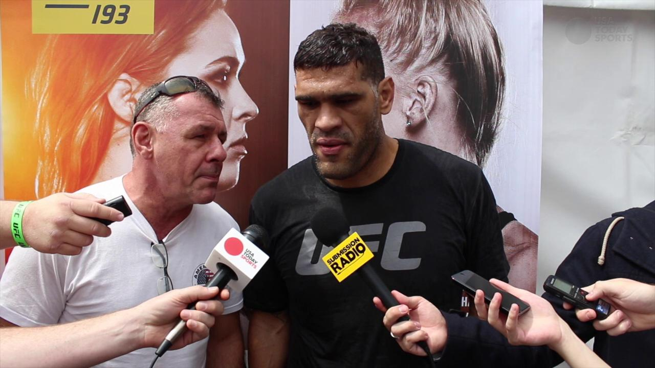 Antonio Silva ready for another war with Mark Hunt