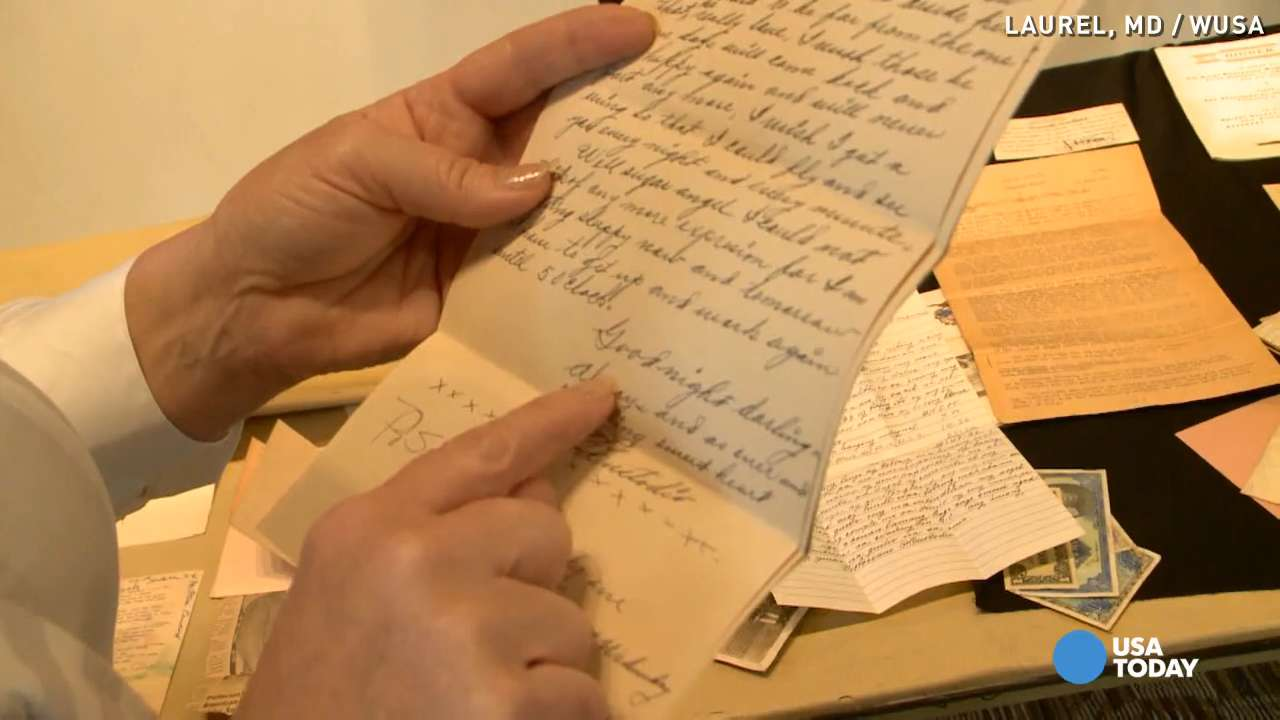Long-lost WWII letters make approach behind to family