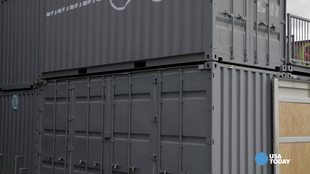 You won't believe what they're doing with shipping containers