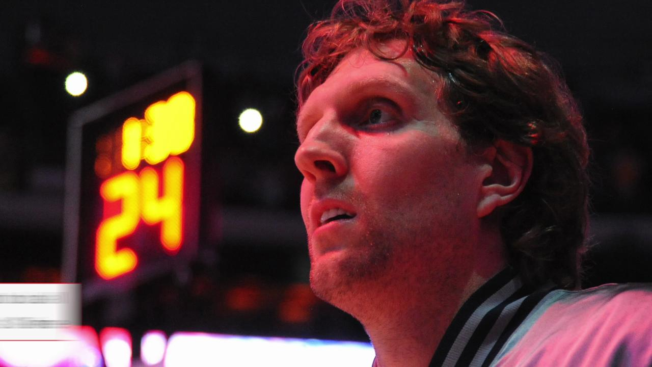 Dirk Nowitzki is averaging 18.9 points a game so far in his 18th season.