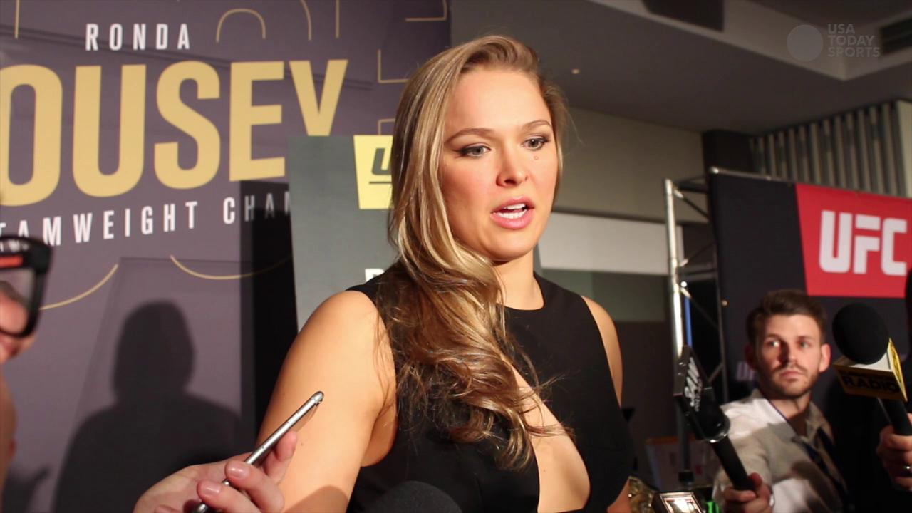 Ronda Rousey discusses the privacy she hopes to keep even as her fame grows