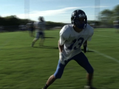 Football player breaks record single-handedly
