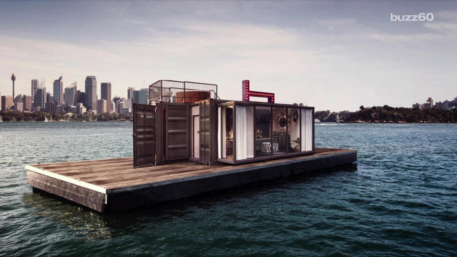 This floating hotel in Sydney Harbor are what dreams are made of