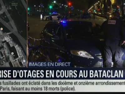 Raw: French Police say Paris shootout, explosion