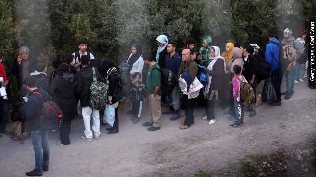 Paris attack further complicates refugee crisis