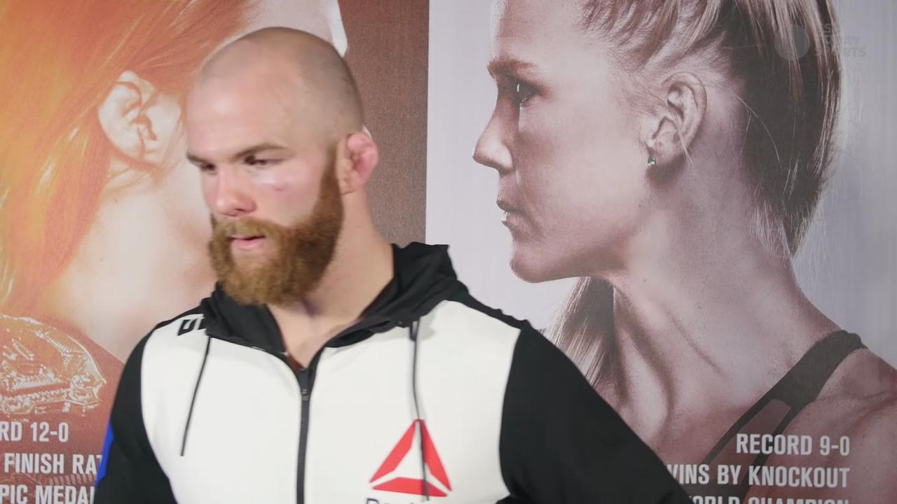 UFC welterweight Richard Walsh post fight interview