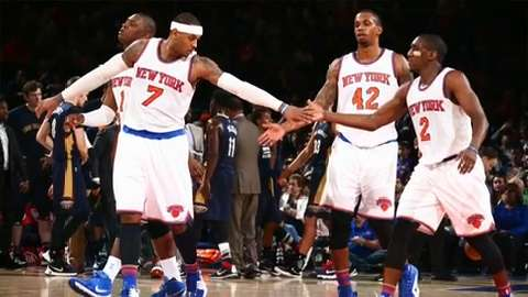 Knicks looking much better in young season
