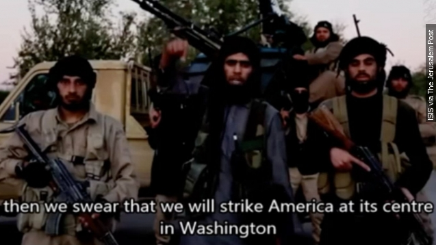 Alleged ISIS video threatens Washington, DC, with Paris-like attacks