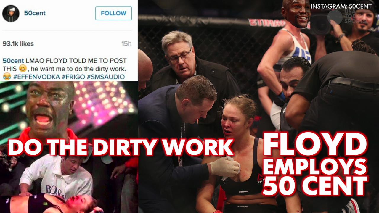 Trump and Floyd take shots at Rousey