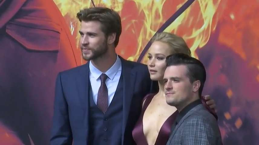 Video   'Hunger Games' stars sad to say goodbye to series