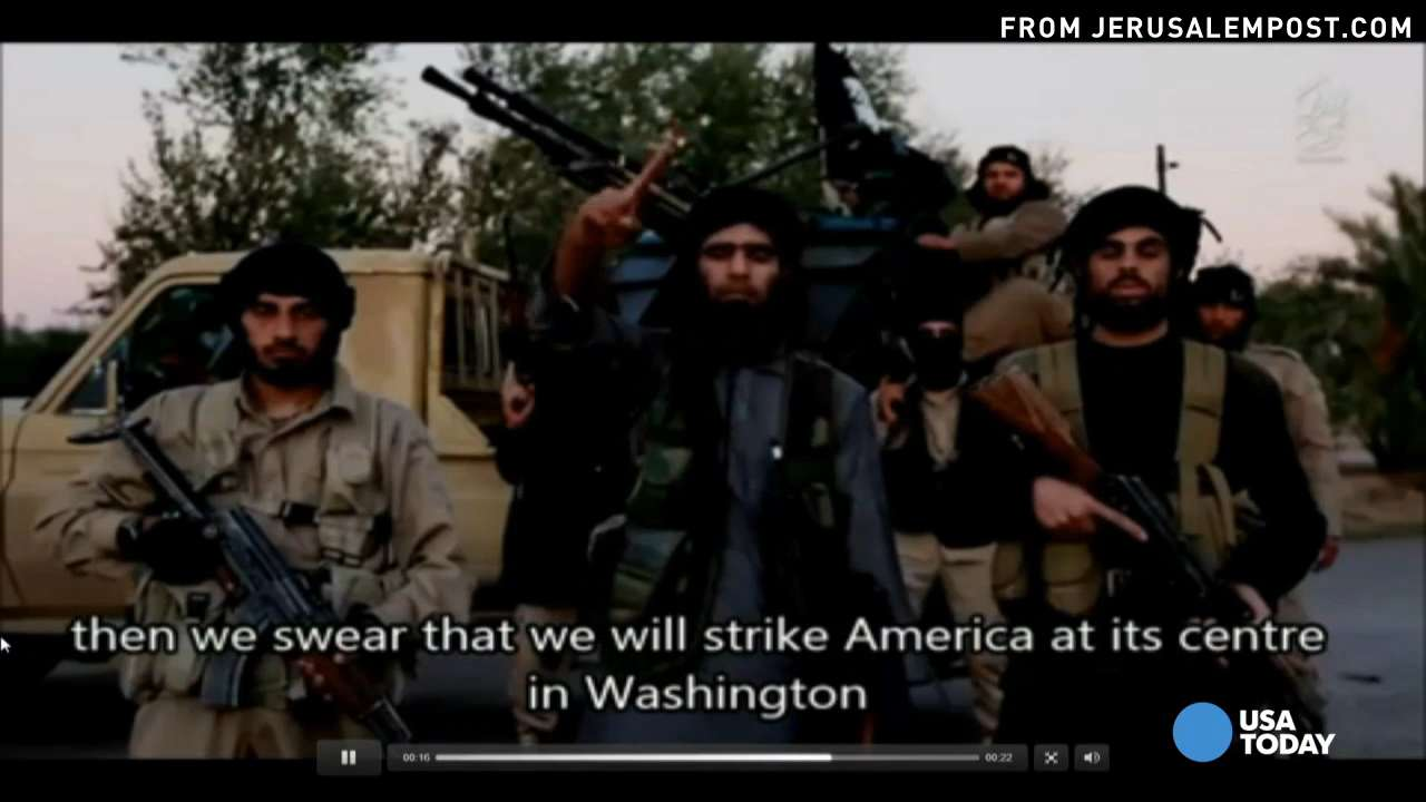 Islamic State purportedly threatens to attack Washington