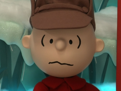 Behind the Scenes: Peanuts on Display at Macy's