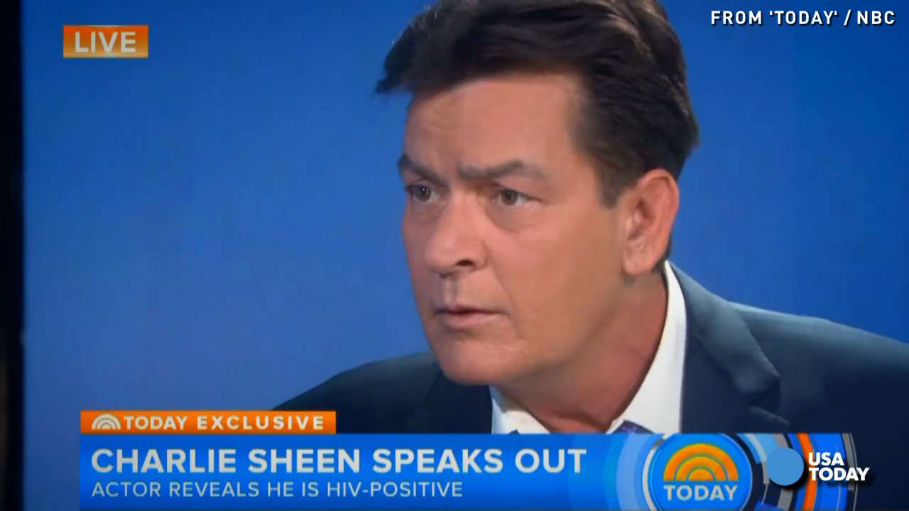 Charlie Sheen: I am HIV positive