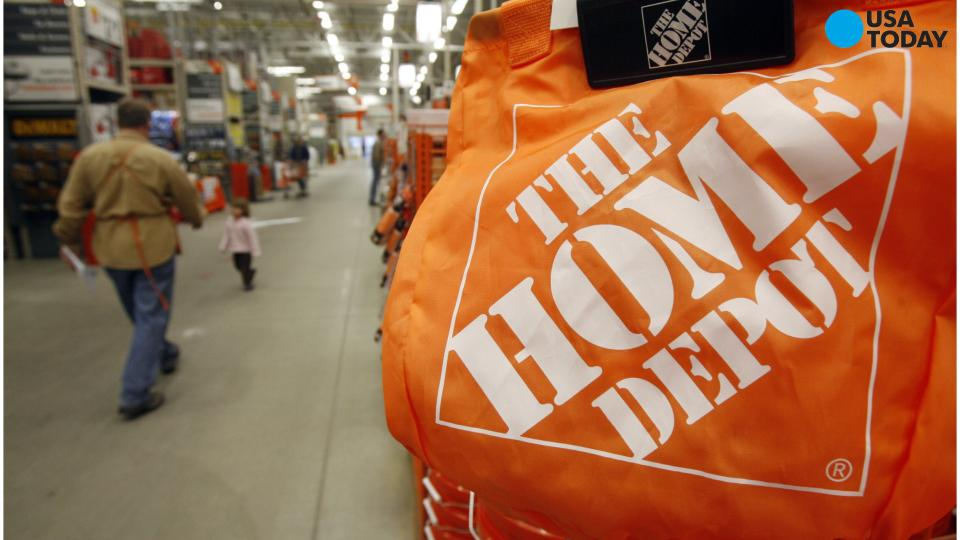 Home Depot profit, sales up in third quarter