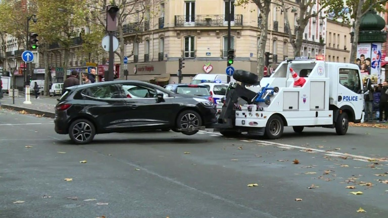 Car rented by Paris attacks suspect found abandoned