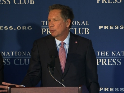 Kasich Calls to Block Syrian Refugees