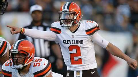 Browns name Johnny Manziel starter for remainder of season