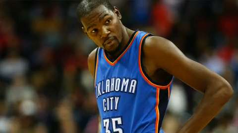 Thunder need Kevin Durant to return from injury