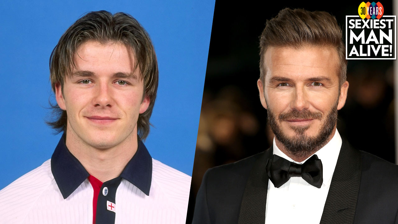 Watch 'Sexiest Man Alive' David Beckham get sexier by the second