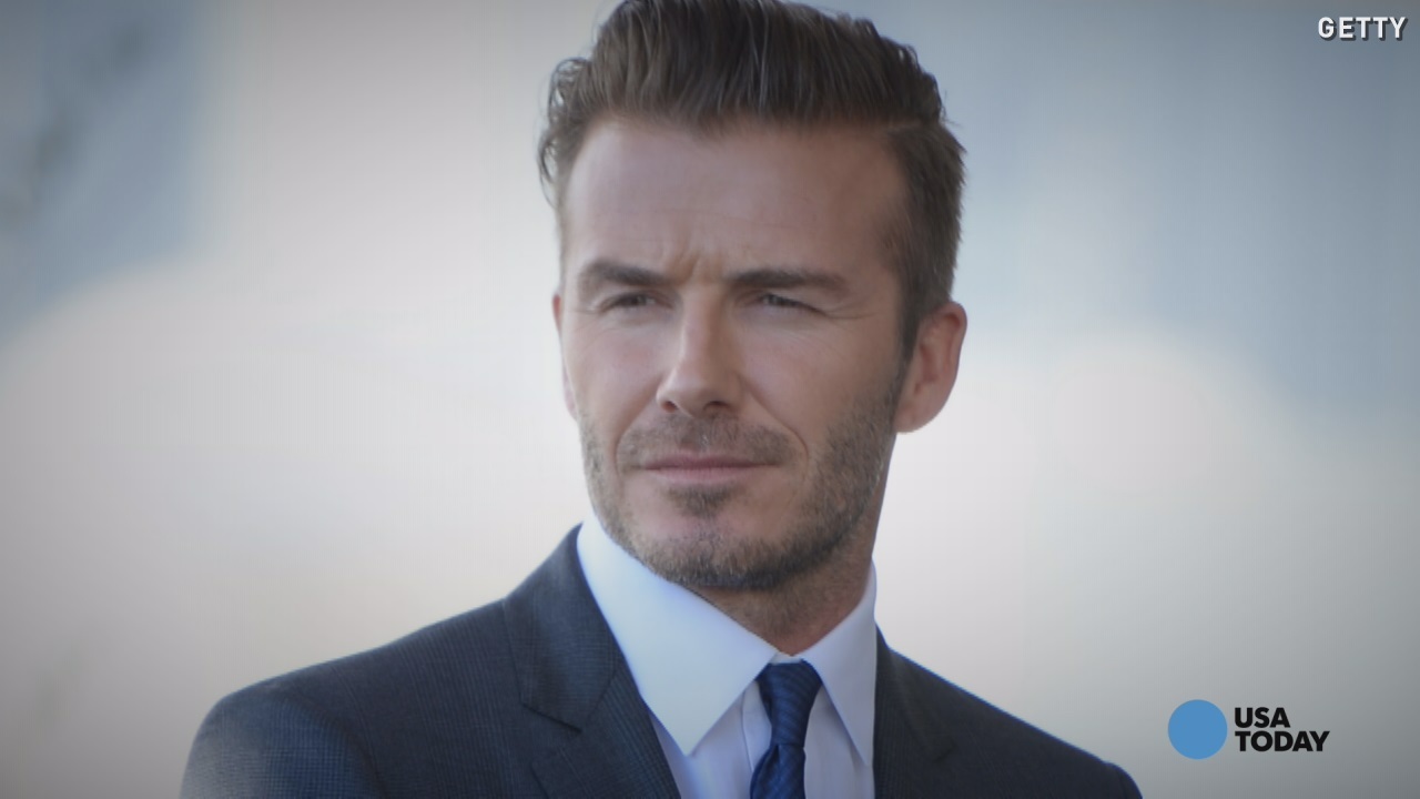 David Beckham named 'Sexiest Man Alive'