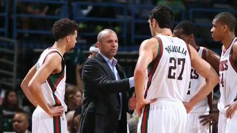 Jason Kidd preaches patience with young Bucks team