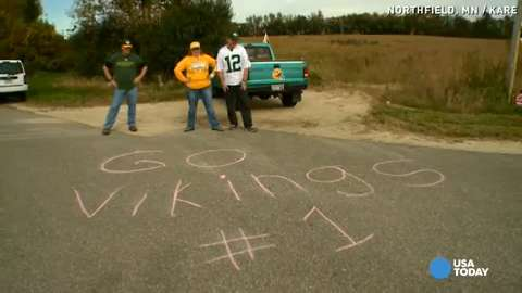 Packers fans won't 'play dirty' on Minnesota highway