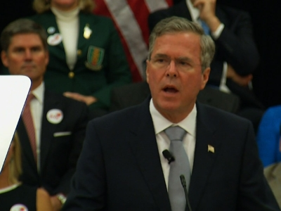 Jeb Bush calls for ground troops to fight Islamic State