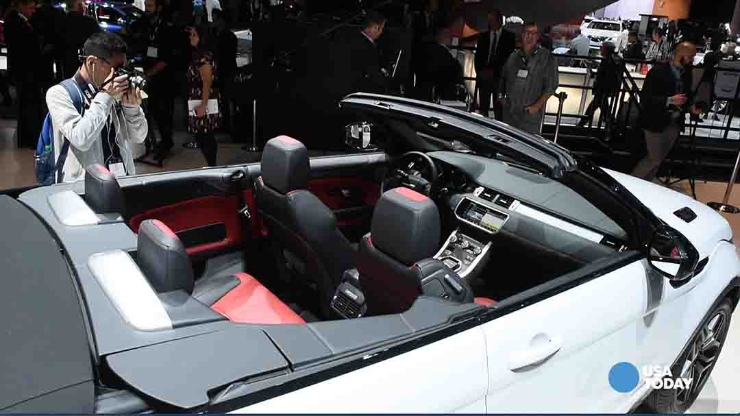 Land Rover's topless Evoque: Strangest car at LA Auto Show