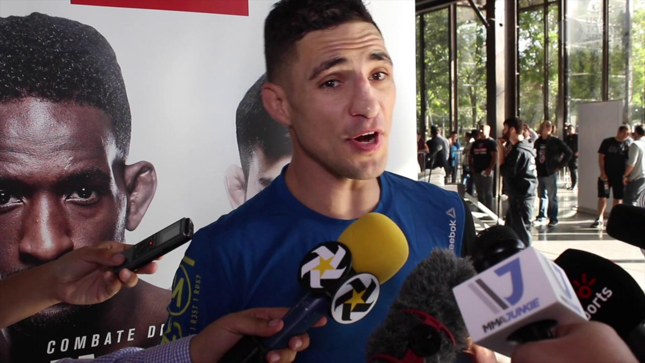 Ahead of featherweight debut, Diego Sanchez is hungry