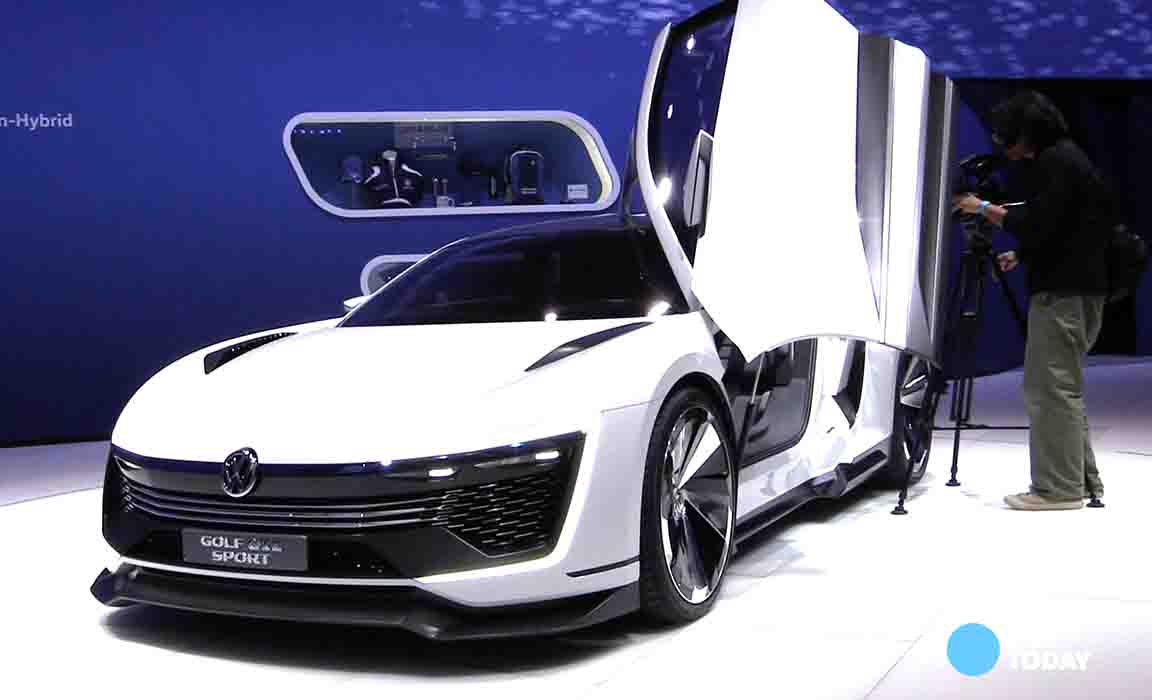 VW hopes three cars distract from diesel woes